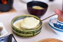 竹野。誕生の塩のにがり使用。自家製すくい豆腐。