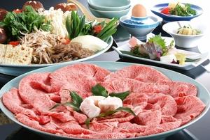 但馬牛すき焼き 8,500円(税別)